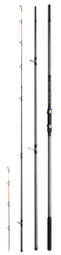 DAM SALT-X BEACH QUIVER 4.20m (40-120g) 8-13Kg Carbon Surf and Beach Ledgering Spinning Rod