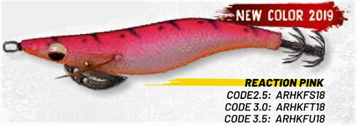 HERAKLES ABISSO 3.5 (Reaction Pink) - Hardbait Squid