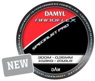 DAMYL NANOFLEX SPECIALIST PRO 300m 0.35mm 10.8kg/23.8lb - Quality Monofilament Line