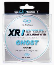 SUNSET XR SILANIUM GHOST 300m 0.45mm 11.4g/25.1lb Monofilament Line