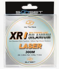 SUNSET XR SILANIUM LASER 300m 0.38mm 8.30Kg/18.3lb Monofilament Line