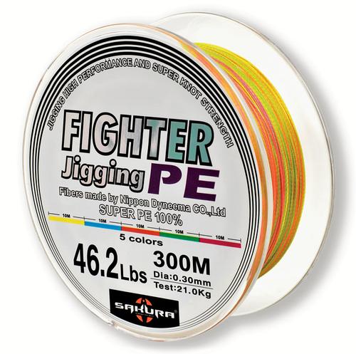 SAKURA FIGHTING JIGGING PE 300m 0.50mm 51.9Kg/114.6lb Braided Line