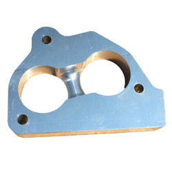 """SS-TBI - 1"""" tall TBI Throttle Body Spacer for GM 87-95 4.3, 5.0 & 5.7 TBI Fuel Injection"""