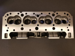 EQ 222cc iron SBC CNC ported cylinder head