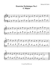 Exercise Technique No.1 C Major