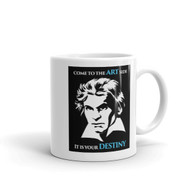 Mug - Beethoven, The Art Side