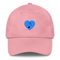 Cap - Blue Heart Note