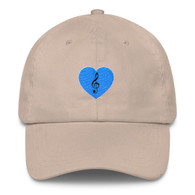 Cap - Blue Heart Treble