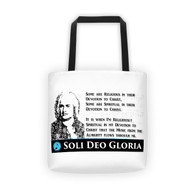 Tote - Bach, Spirit Soli Deo