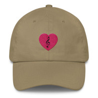 CAP - Red Heart Treble