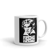 Mug - Beethoven d,e,a,f notes