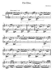 Fur Elise - LV Beethoven