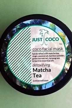 Matcha Tea Coco Facial Mask