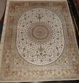 Hereke silk 305 x 244 cm nd66/72