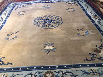 Antique Chinese Carpet 284x244 cm