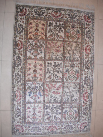 Chinese Hereke 122x74 cm ND 66/ 10