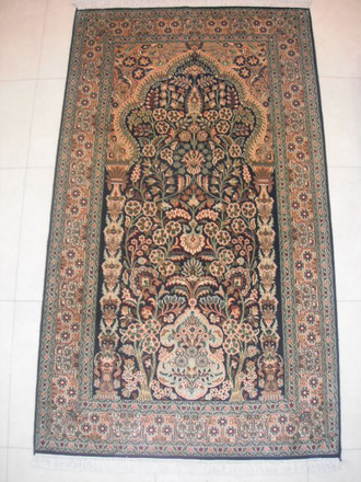 Indian Kashmir Silk 159x091 cm ND 175/ 40