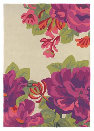 Sanderson Mid Summer Rose 45600