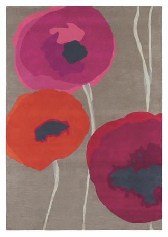 Sanderson Poppies 45700