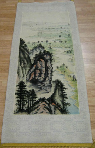Chinese Hand Knotted Tapestry 152 x 61cm