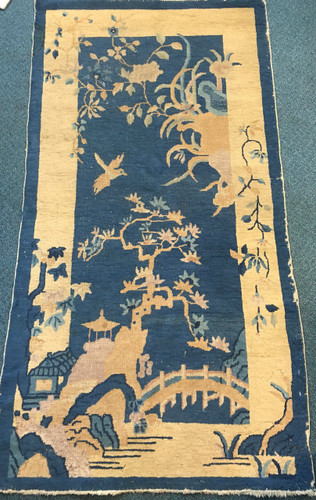 Antique Chinese Rug 176x91 cm
