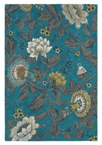 Wedgwood Passion Flower Teal 37117
