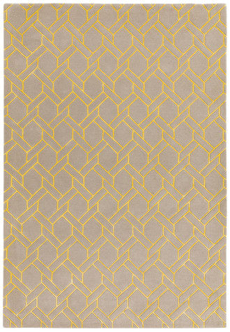 Nexus Fine Lines Silver Yellow