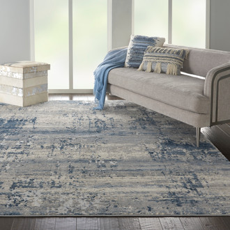 Rustic Textures RUS10 Ivory Blue