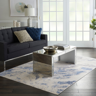 Silky Textures SLY03 BLUE IVORY