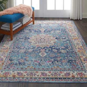 Vintage Kashan VKA 01 Blue