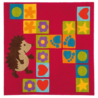 Kids Rugs - Porcupine 130x130cm