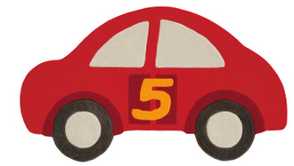Kids Rugs - Red Car 155x90cm