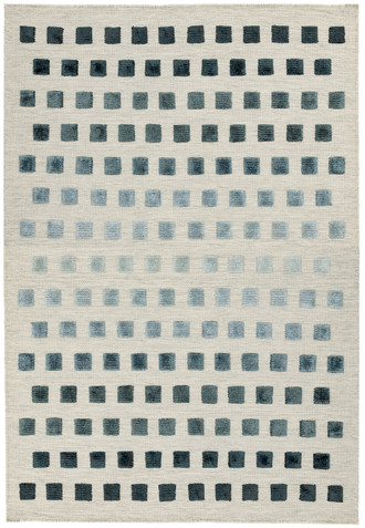 Theo Silvery Squares
