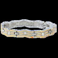 Sabona Ladies Serpentine Gold Magnetic Bracelet