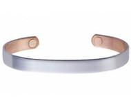 Sabona Brushed Silver Original Magnetic Bracelet