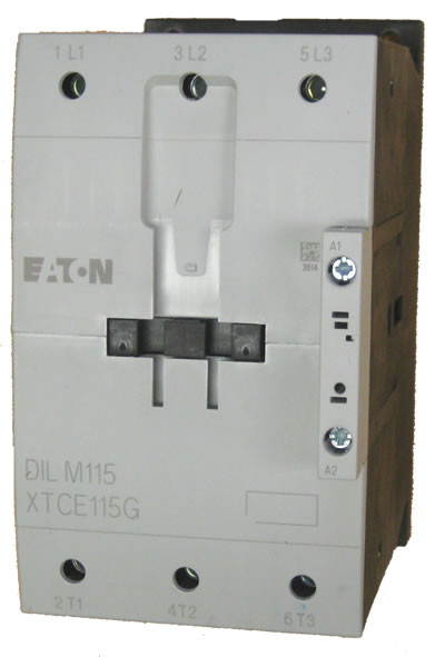 Eaton Xtce115g Contactor Rated At 115 S 3 Pole Ac Coll. Wiring. Eaton Motor Starter Wiring Diagram 230v 100a At Scoala.co