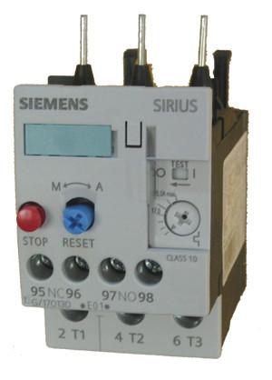 Siemens 3RU1126-1CB0 thermal overload relay