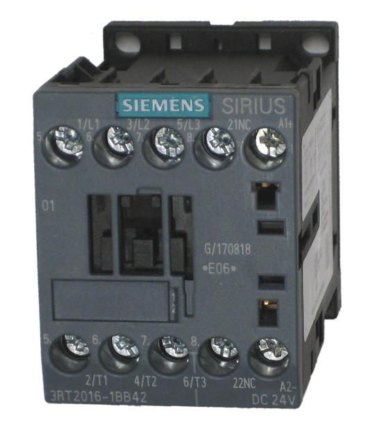 24V DC Coil Voltage S0 Frame Size Screw Terminals Siemens
