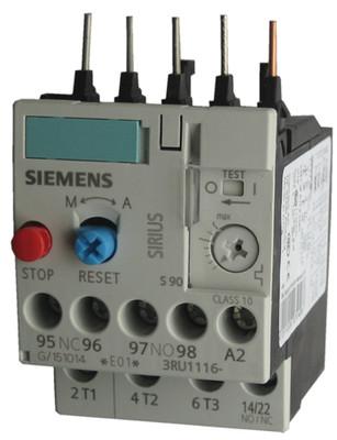 Siemens 3RU1116-0JB0 thermal overload relay