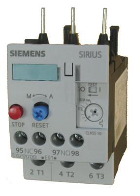Siemens 3RU1126-1DB0 thermal overload relay