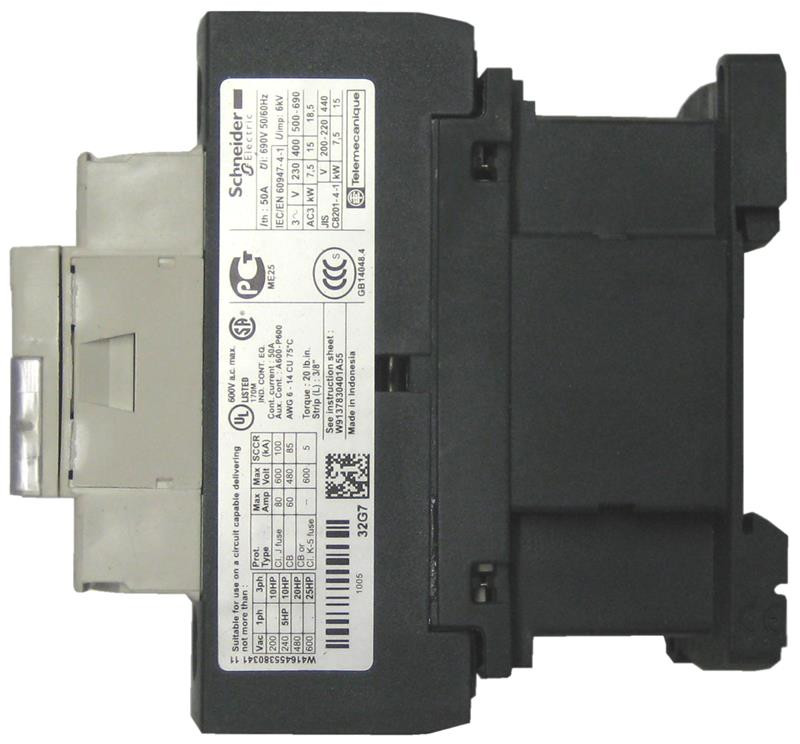 Lc1d32 Telemecanique    Square D Tesys Contactor By Schneider Electric