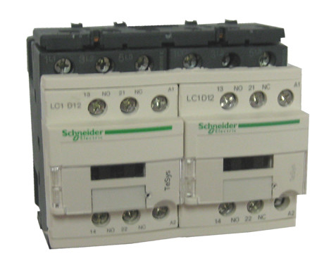 square d telemecanique lc2d12u7 reversing contactor