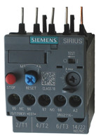 Siemens 3RU2116-4AB0 thermal overload relay