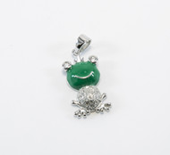 Enamel and Micro Pave Cubic Zirconia