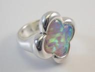 White Lab Created Opal