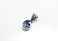 Genuine Oval-Shaped Blue Topaz