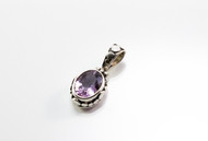 Genuine Oval-Shaped Amethyst