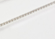 Medium Thick Silver Box Chain