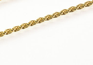 Gold-Plated Rope Chain