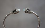 Larimar Balinese Bracelet